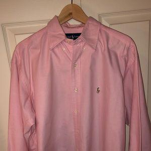 Ralph Lauren Blake Pink Men's Shirt Size L